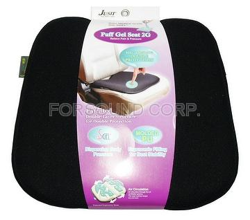 JUSIT Puff Gel Seat 2G-1 (Universal size for any type of car)
