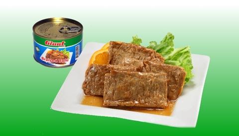 Canned Vegetarian Braised Tofu