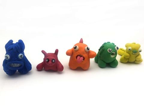 Hot Selling Creative Animation Models Oil Clay