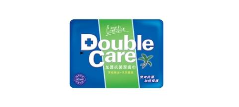 Double Care Wipes (Traveling Pack) 20 Sheets