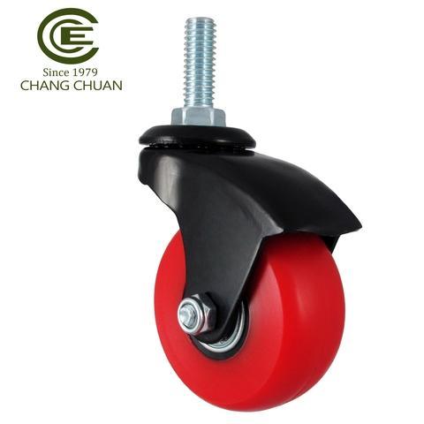 Taiwan 57mm Polyurethane Foam Load Tyred Caster Wheel