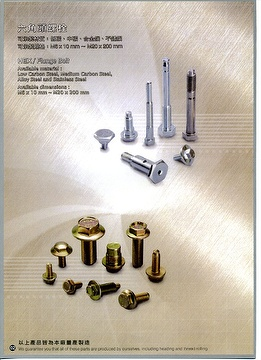 Hex Bolts, Flange Bolts