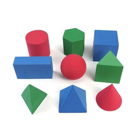 EVA 3.5cm Geometric block 9 shape 45 pcs