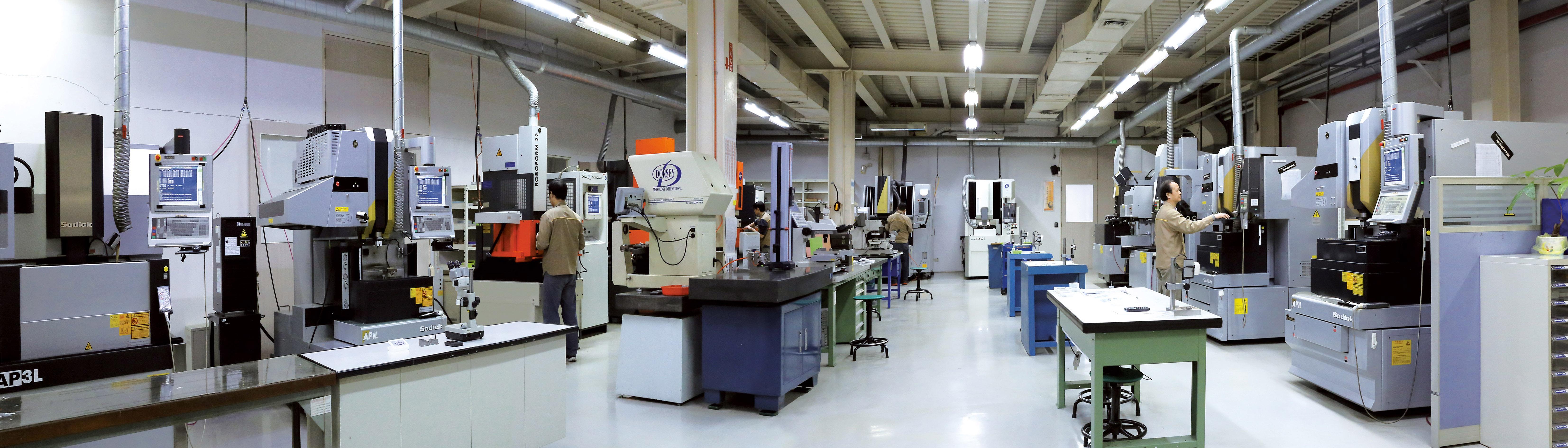 CNC EDM dept
