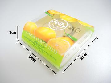Lemon Flavor Fruit Jelly Pudding