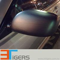 brushed metallic, aluminum metallic pvc,car wrap