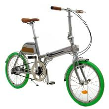 Folding electric bicycle with Belt drive