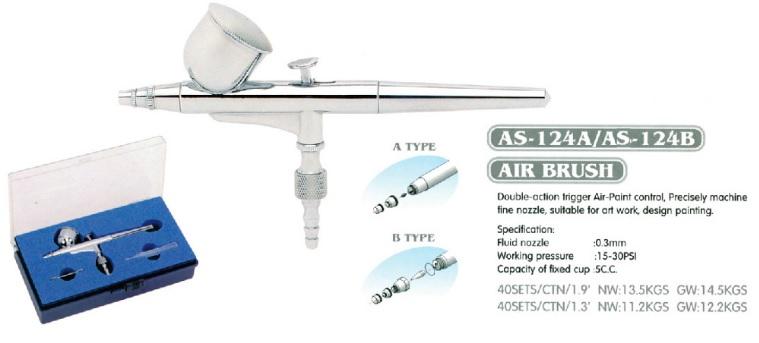 Airbrush AS-124B