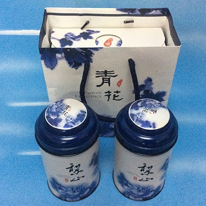 Taiwan Lishan Organic Frost Descent Oolong Tea with Limited Amount - Portable Box(2*per 150g )