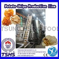 2014 New Qualified Efficient Continual Potato Chips Equipment