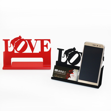 taiwan cell phone tablet business card holder stand love cat shape classic black gifts decors crafts taiwantradecom - Cell Phone Business Card Holder