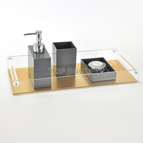 Acrylic Bath Amenity Tray (Large)