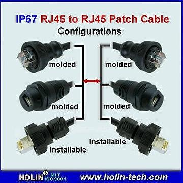 how to connect cable to rj45 connector