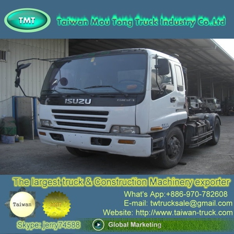 Used ISUZU 6 Wheeler Tractor Truck For Sale [ Trucks Spare Parts, Trailer,  Prime Mover, Truck Head, Dealer, Shipper, Supplier, Taiwan, Exporter,  Japan, ...