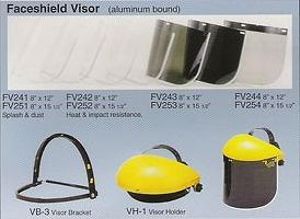 Faceshield Visor (aluminum bound)