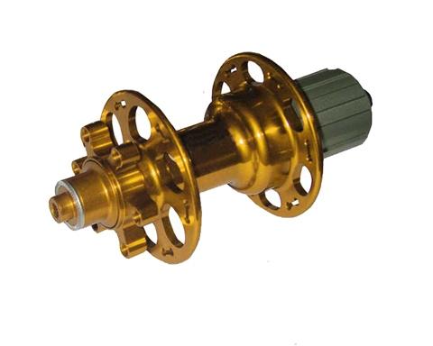 Light MTB rear hub