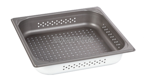 2/3GN Nonstick Perforated Pan H:65mm