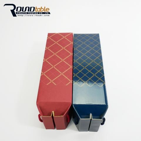 red/ blue wine packing gift box