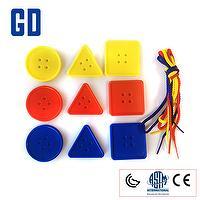 Geometric button box