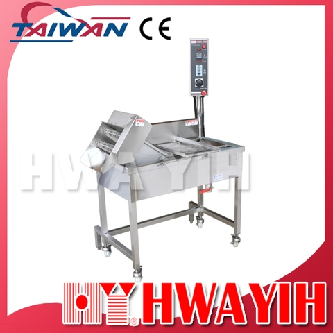 HY-585 Electric Continuous Conveyer Fry Machine