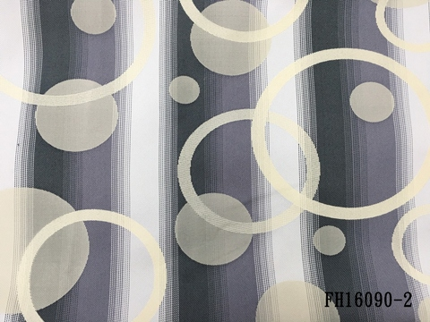 Jacquard black out curtain fabric