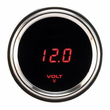 Digital Stainless Steel Voltmeter (EUP-13-BS)