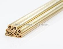 Brass multi hole electrode tubes