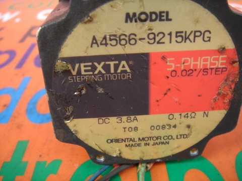 ORIENTAL VEXTA A4566-9215KPG 5-PHASE STEPPING MOTOR