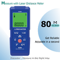 80M Long range laser rangefinder CX80 LDM, area volume instruments,timer countdown, stable,precision, looking for distributor