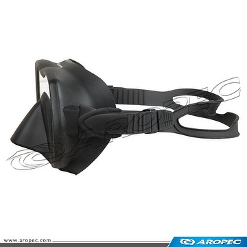 Single Lens Frameless Mask, Mask, Diving Mask