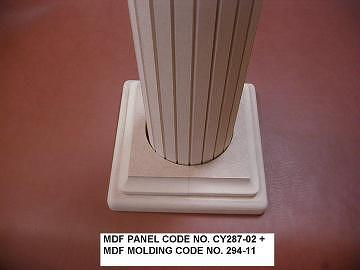 Taiwan mdf molding and panel building material pole for Advanced molding and decoration