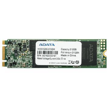 ADATA IM2S3328E 8GB/16GB/ 32GB/64GB/128GB/256GB/512GB Industrial-Grade M.2 2280 SATA III MLC SSD, Read and Write up to 560MB/s and 450MB/s