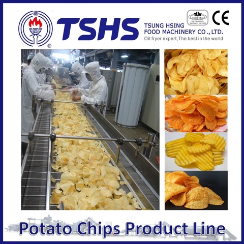 Made in Taiwan High Quality Pringles Potato Chips Machine