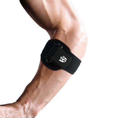 Adjustable Elbow Support Compression Pad Black