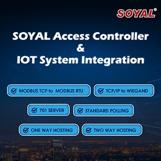 SOYAL Access Controller & IOT System Integration