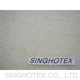Acrylic/Polyester Sherpa Fabric