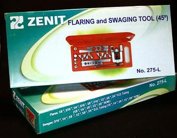 Flaring & swaging tool
