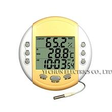 HT-9219 Indoor Outdoor Thermo-Hygrometer with Alarm Clock