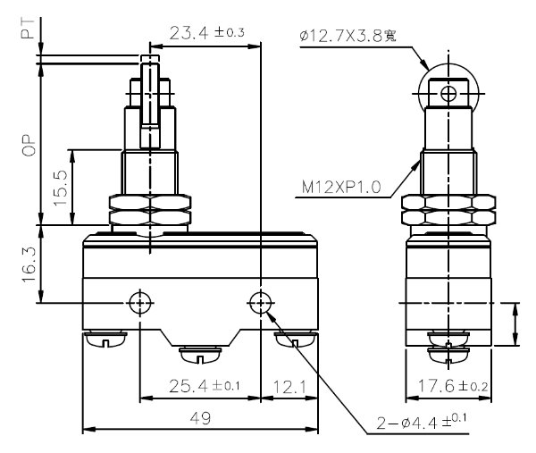 微動開關TM-1309-1