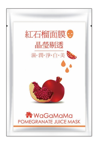 WaGaMaMa POMEGRANATE JUICE MASK
