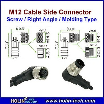 M12 Connector & Cable Assembly