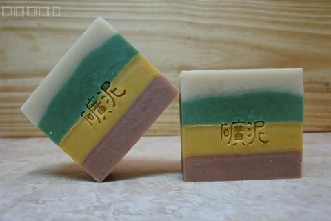 Integrated clay-Superine clay handmade soap