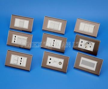 European Type Wallplate Switch & Socket