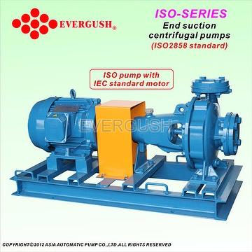 ISO End suction centrifugal pump(ISO2858 standard)