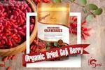 Organic Dried Goji Berries 150g*1pcs