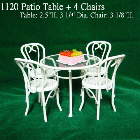 Surprising Taiwan Doll House Miniature Miniature Patio Table And Download Free Architecture Designs Scobabritishbridgeorg