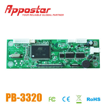 Appostar Printer Control Board PB3320 Front View