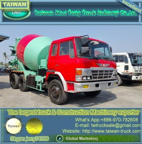Taiwan Hino mixer trucks for sale | Taiwantrade