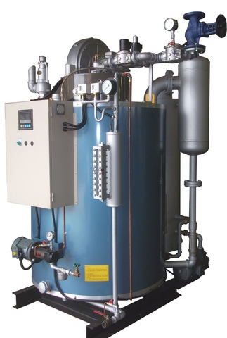 AUTOMATIC ONCE THROUGH STEAM BOILER
