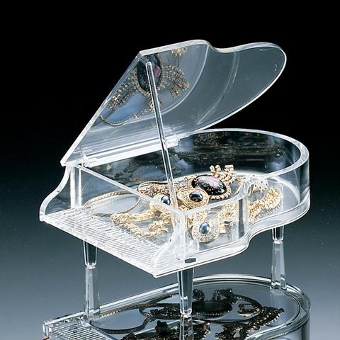Acrylic Piano Box, jewelry box, organizer, box with lid